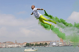 Li-Wei, performance, Venezia 2013