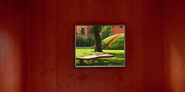 Arte per giocare: come è nato il giardino volante